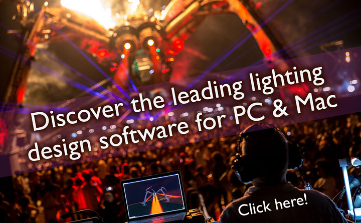 Capture is software for light design!