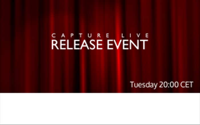 Capture live release event