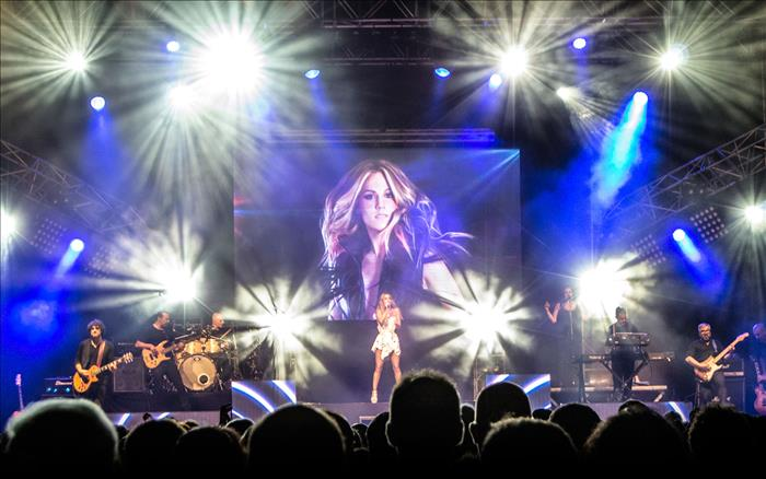 Capture for Edurne's Adrenalina tour