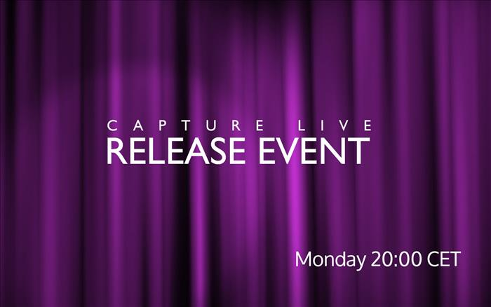 Capture 2019 live release event