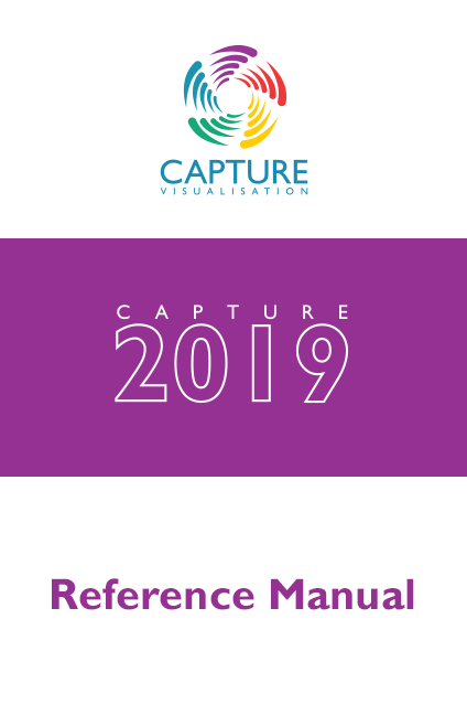 6 Fixture Data Import and Export | Capture 2019 Reference Manual
