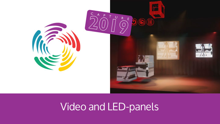 Video and LED-panels