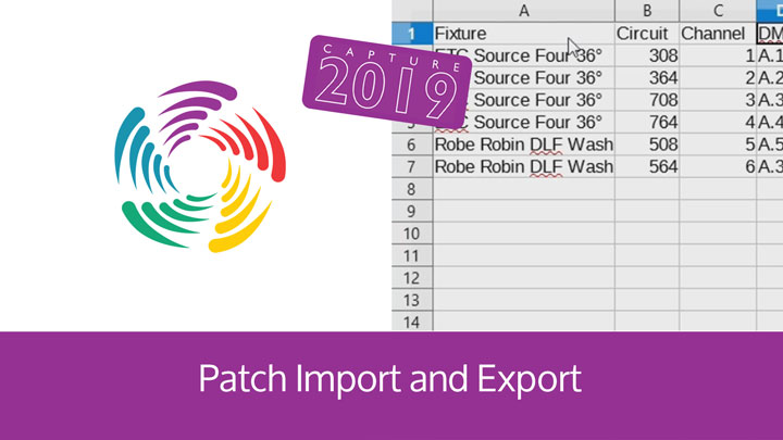 Patch Import and Export