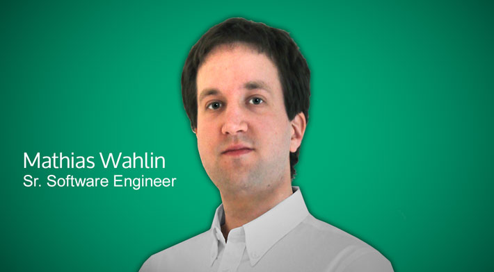 Mathias Wahlin / Sr. Software Engineer
